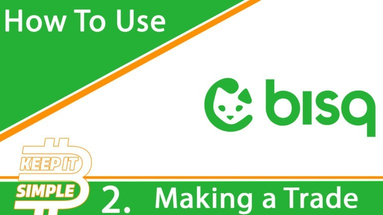 How to use Bisq making trade
