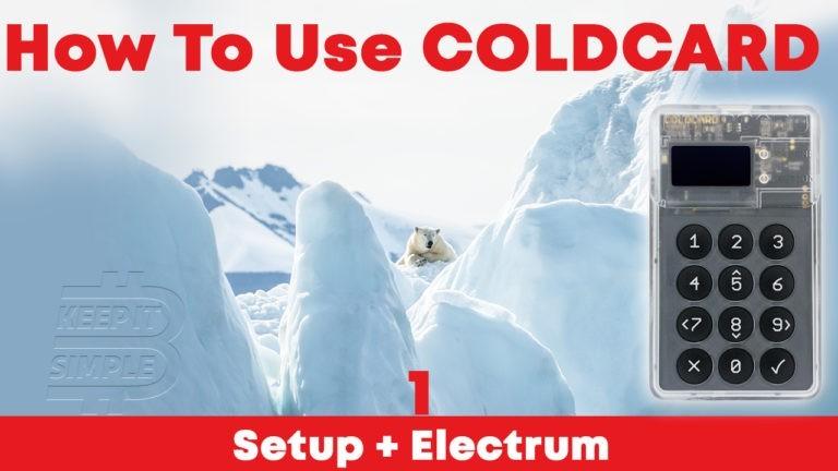 Setup Coldcard Wallet