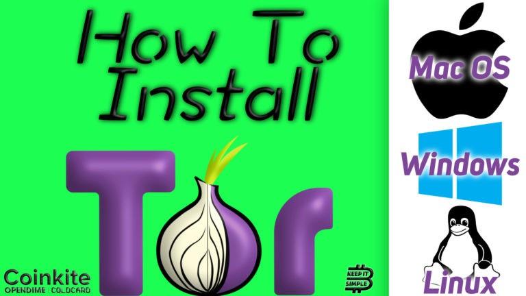 Install Tor bitcoin