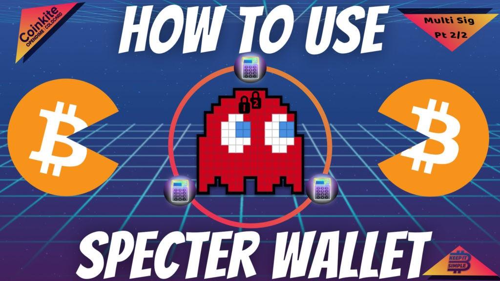 Specter Wallet Multi Signature
