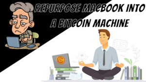 Macbook Bitcoin Machine