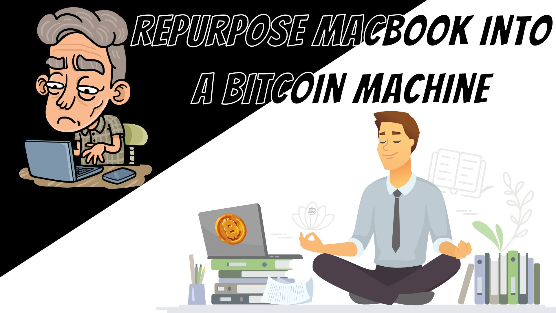 Macbook Bitcoin Machine