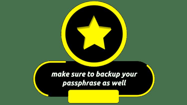 Yellow Passhprase