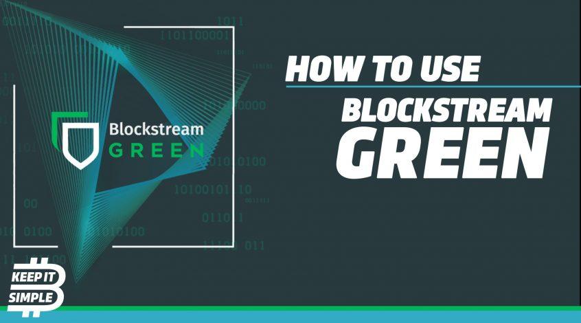 Blockstream Green Bitcoin Wallet